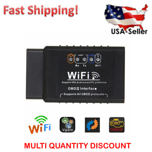Wifi Wireless Obd2 Obdii Car Diagnostic Scanner For Iphone Android Code Reader