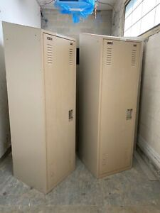 Used Metal Lockers Inside Has A Separate Gun Safe
