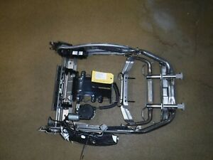 08 13 Cadillac Cts Sedan Front Driver Left Seat Frame Back With Air Bag