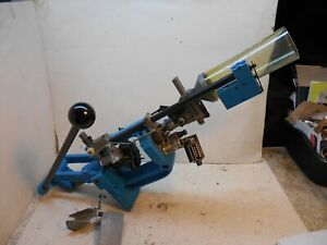 Dillon RL 550 reloading press with powder measure 44 mag dies shell counter $650.00