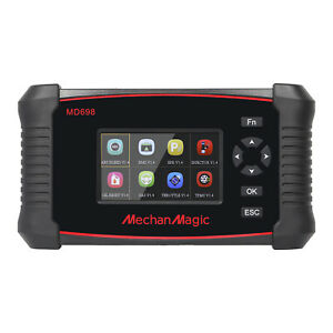 Mechanmagic Md698 Obd2 Car Code Reader Diagnostic Scan Tool Scanner Full Systems