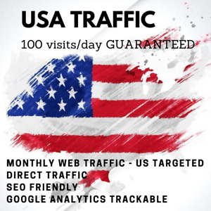 Unlimited Direct Usa Website Visitors For Your Website