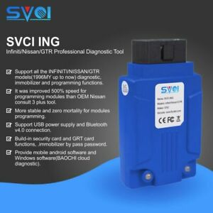 Svci Ing Diagnostic Tool Immobilizer Fvdi Programmer Fit For Infiniti Nissan Gtr