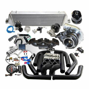 Gt35 Complete Turbo Kit For Vw Jetta golf Gli 16 valve 1 8l 2 0l 1984cc Gas Dohc