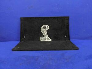 2003 2004 Ford Mustang Cobra Svt Convertible Rear Seat Delete Panel Cover