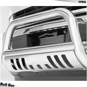 Stainless Steel Bull Bar For 2006 2008 Dodge Ram 1500 Grilles Guard Skid Plate