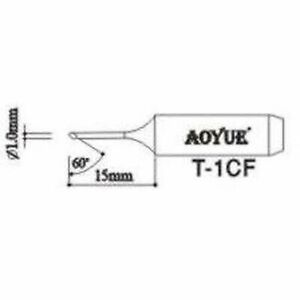 Aoyue T1cf Replacement Soldering Iron Tips