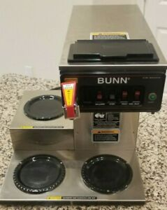Bunn 12950 0298 Cwtf15 12 Cup Automatic Coffee Brewer 3 Warmers 3 Decanters