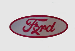 Ford Logo Cancer Awareness Decals Stickers Emblems Badges Read Discription