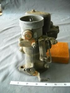 Vintage Carter W 1 Single Barrel Carburetor Downdraft For Parts Or Rebuild