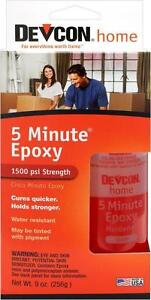 3 Devcon 20945 S 209 9oz 5 Minute Fast Drying Epoxy