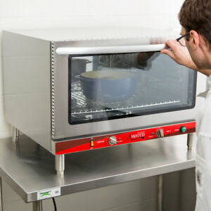 Full Size Electric Countertop Convection Oven With Steam Injection 208 240v