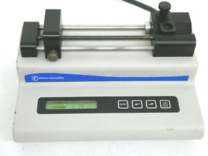 Fisher Scientific 78 0100 Syringe Pump Infusion Only Single Syringe