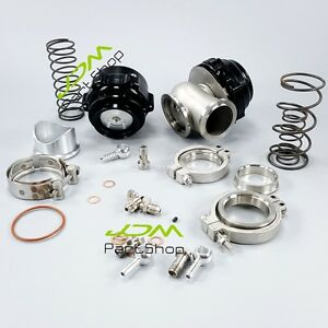 50mm Bov Mvr44 44mm Wastegate Combo Turbo Blow Off Valve And Waste Gate Black