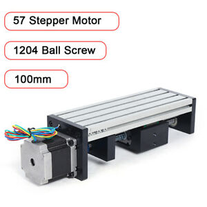 80double Track Precision Electric Sliding Table 1204ball Screw Position Drilling