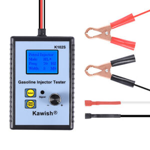 Gasoline Injector Tester Fuel Injector Tester Powerful Fuel System Scan Tool
