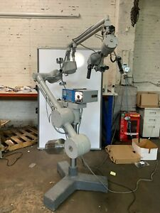 Carl Zeiss Surgical Operating Microscope Super lux 40 Light