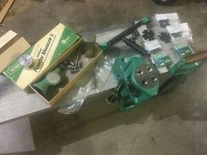 RCBS 4x4 A5 PRESS W 8 Shell Plates RCBS Uniflow Powder Measure $550.00