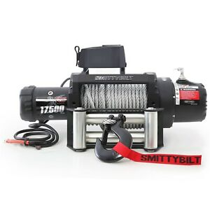 Smittybilt 97417 Xrc 175k Gen2 Winch Of Steel Rope Rated Line Pull 17500lb