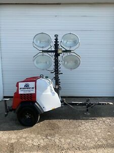 2016 Generac Mlt6s Mobile Light Tower 2685 Hours