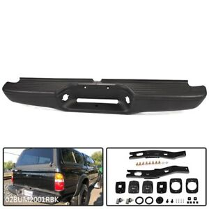 Complete Rear Steel Step Bumper Assembly For 1995 2004 Toyota Tacoma Truck