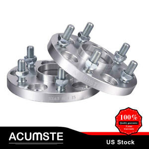 2pcs Wheel Spacers 15mm 5x4 5 60 1mm 12x1 5 Studs For Lexus Toyota Camry