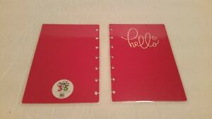 The Happy Planner Hello Pink Replacement 7 5 X 5 1 8 Planner Cover Rare New