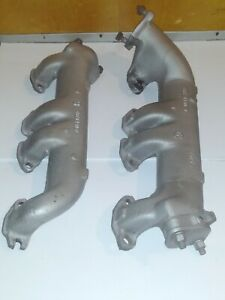 292 312 272 Ford Y block Motor Engine Exhaust Manifolds 1961 60 59 58 57 56 55