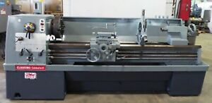 21 X 80 Clausing Colchester Lathe 1400 Rpm Inch mm 3 5 Hole Clean 30740