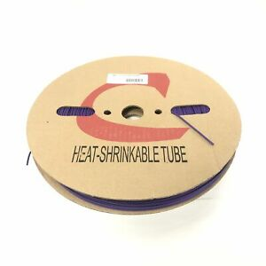 Thermosleeve Cyg Hst116330 Violet Purple 1 16 2 1 Heat Shrink 330 Foot Roll
