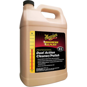 Meguiar s Mirror Glaze Professional Dual Action Cleaner polish M8301 1 Gallon