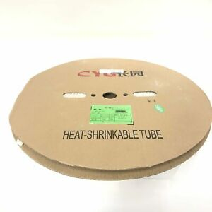 Thermosleeve Cyg Hst12330 White 1 2 2 1 Heat Shrink 330 Foot Roll