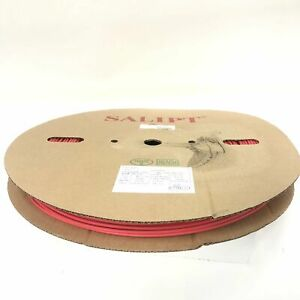 Thermosleeve Cyg Hst18330 Red 1 8 2 1 Heat Shrink 330 Foot Roll