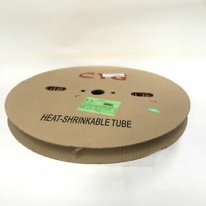 Thermosleeve Cyg Hst316330 Brown 3 16 2 1 Heat Shrink 330 Foot Roll