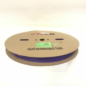 Thermosleeve Cyg Hst316330 Violet purple 3 16 2 1 Heat Shrink 330 Foot Roll