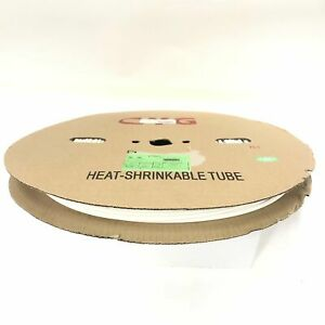 Thermosleeve Cyg Hst316330 White 3 16 2 1 Heat Shrink 330 Foot Roll