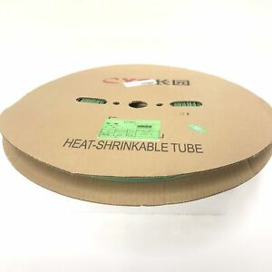 Thermosleeve Cyg Hst332330 Green 3 32 2 1 Heat Shrink 330 Foot Roll