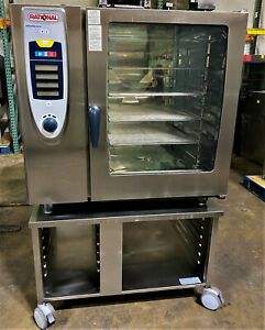 Rational Scc102g lp Or Nat Gas Full Size Combi Oven 10 Pan fully Refurbished