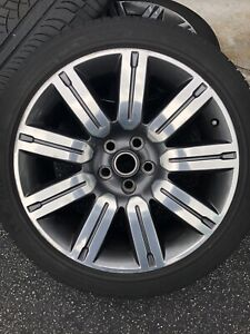 4 Genuine Oem Factory Range Rover Sport Supercharged 20 Wheels Tires Land Rover
