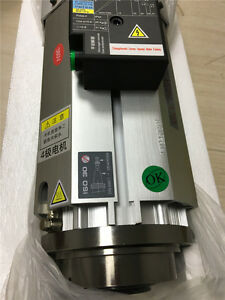 9kw Atc Spindle Motor Bt30 iso30 Air cooled Short Nose 24000rpm Replace Hsd