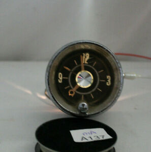1962 62 Cadillac Dash Clock light Tested And Works