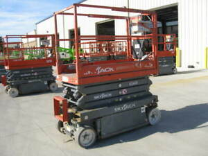 2015 Skyjack Sjiii 3219 Electric Scissor Lift 25ft Working Height