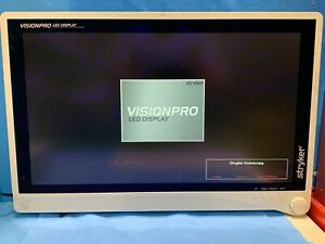 Stryker Visionpro 26 Led Surgical Endoscopy Monitor W Power Supply dvi Cable