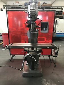 Bridgeport Series I Mill Rebuilt Head New Xy Screw Nut 48 Table