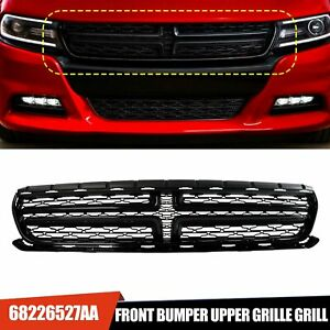 For 2015 2018 Dodge Charger Oe Style Front Bumper Radiator Upper Grille Grill