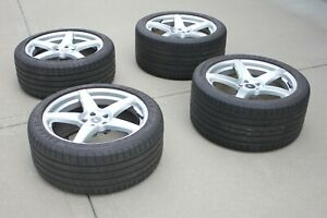Forgestar Cf5 19x9 19x10 Wheels And Goodyear Eagle F1 Tires With 5000 Miles