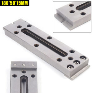 Cnc Wire Edm Fixture Board Jig Tool For Clamping Leveling 180 50 15mm M8 Thread