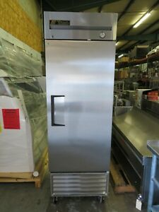 True T 23 Single door 27 Reach in Cooler Stainless Commercial Refrigerator