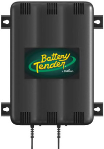 Battery Tender 2 bank Charger 12v 1 25 Amp Battery Charger With 2 Charging Ban