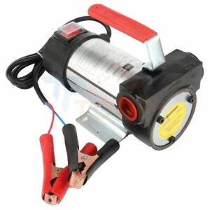 Oil Pump Dc 12v 260w Electric Motor Fuel Fluid Extractor Siphon Diesel Transfer